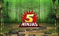 uk online slots such as 5 Ninjas