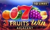 uk online slots such as 3 Fruits Win: 10 Lines Adjacent