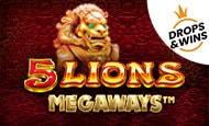 uk online slots such as 5 Lions Megaways