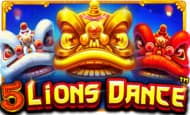uk online slots such as 5 Lions Dance