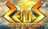 uk online slots such as Ancient Fortunes: Zeus