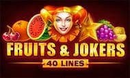 uk online slots such as Fruits and Jokers: 40 Lines