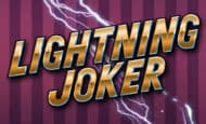 uk online slots such as Lightning Joker