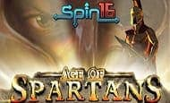 uk online slots such as Age of Spartans Spin16