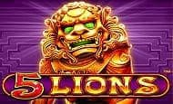 uk online slots such as 5 lions