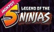 uk online slots such as Legend of the 5 Ninjas Jackpot