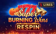 UK Online Slots Such As Super Burning Wins: Re-Spin