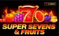 uk online slots such as 5 Super Sevens & Fruits