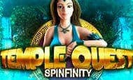 uk online slots such as Temple Quest Spinfinity