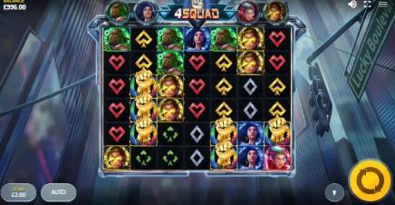 4 Squad slot