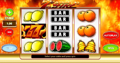 7s On Fire slot