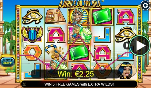 A While On The Nile Online Slots