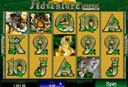 Adventure Palace slot
