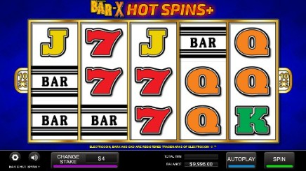 Bar X Hot Spins + slot