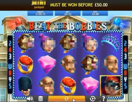 Beat the Bobbies Jackpot slot