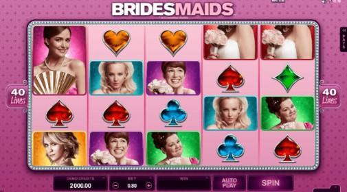 Bridesmaids UK Online Slots