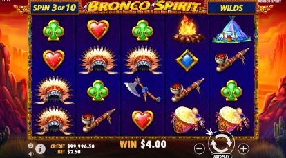 Bronco Spirit slot