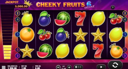Cheeky Fruits 6 Deluxe slot