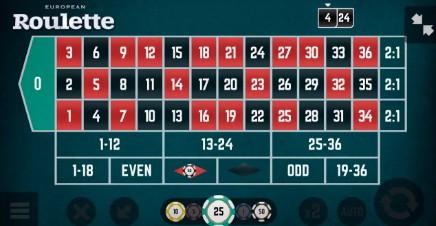Roulette (European) slot