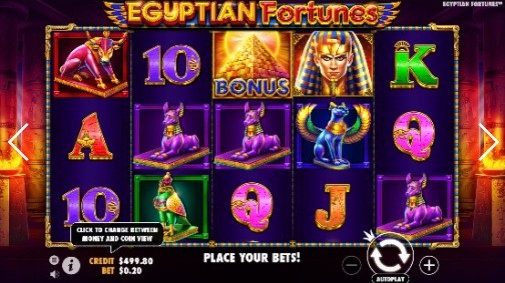 Egyptian Fortunes UK Online Slots