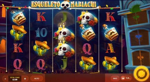 Esqueleto Mariachi UK Online Slots
