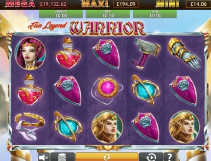 Fae Legend Warrior Jackpot slot