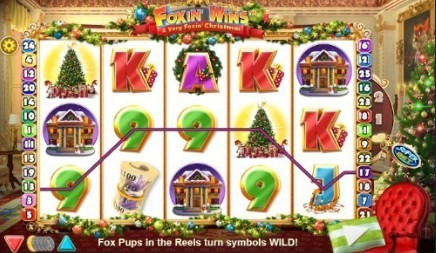 Foxin' Wins Christmas slot
