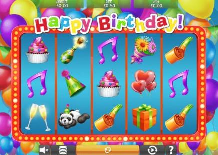 Happy Birthday Jackpot slot