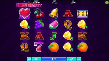 Heartburst slot