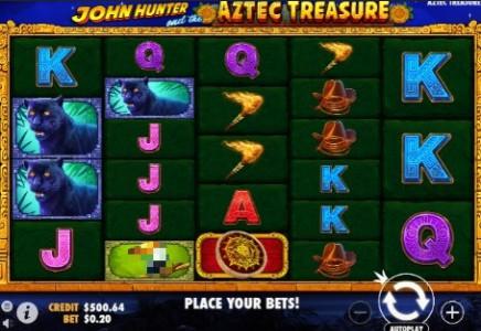 John Hunter and the Aztec Treas slot