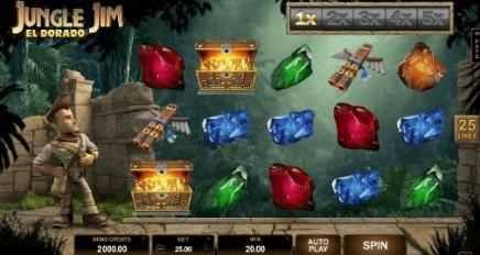 Jungle Jim - El Dorado slot