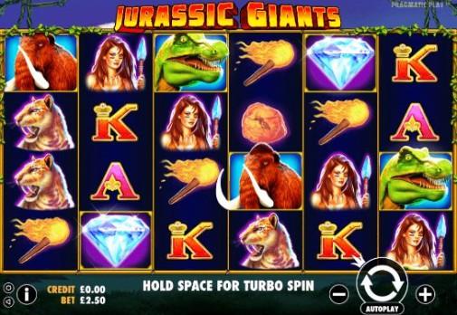Jurassic Giants UK Online Slots