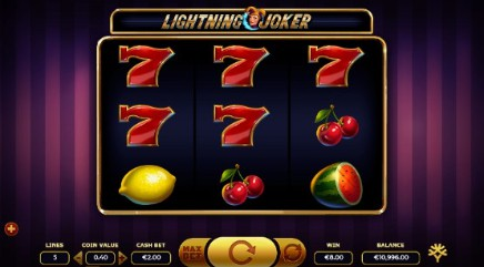 Lightning Joker slot