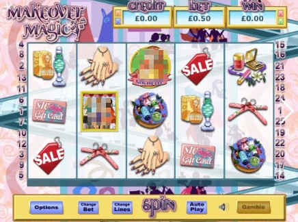 Make Over Magic slot