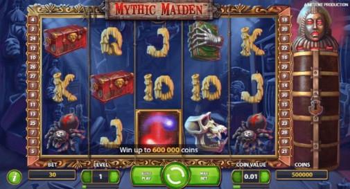 Mythic Maiden UK Online Slots