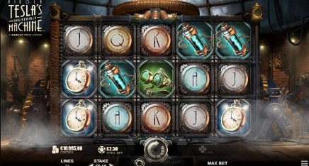 Nikola Tesla Incredible Machine slot