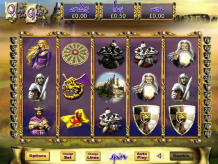 Quest For The Grail slot