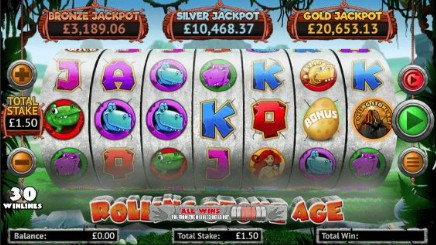 Rolling Stone Age slot