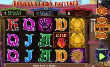 Rosellas Lucky Fortune slot