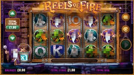 Reels of Fire slot