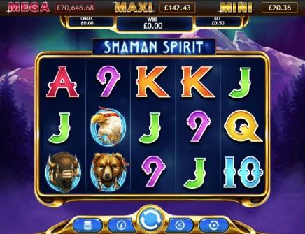 Shaman Spirit Jackpot slot