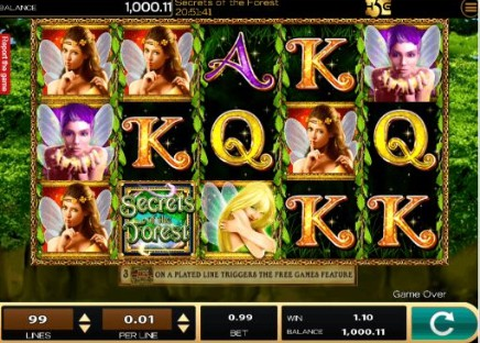 Secrets of the Forest slot