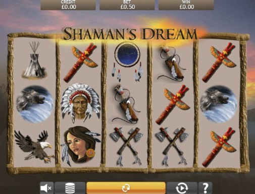 Shaman's Dream UK Online Slots