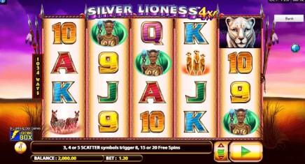 Silver Lioness 4x slot