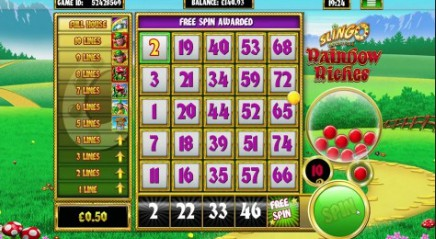 Slingo Rainbow Riches slot