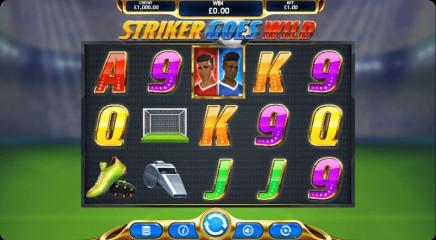 Striker goes Wild slot