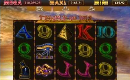 Temple of Iris Jackpot slot