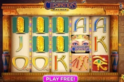 The Legacy of Cleopatra's Palace slot