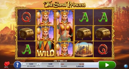 The Sand Princess slot