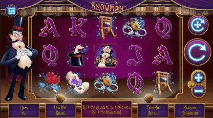 The Showman Mini slot